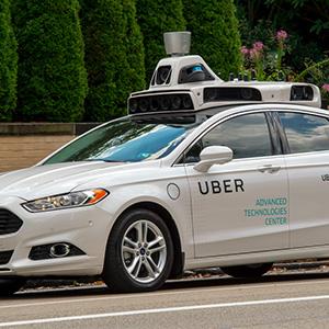 UBER вводит беспилотные автомобили
