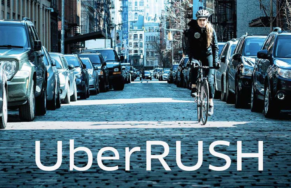 Start working in the delivery of cycling Uber